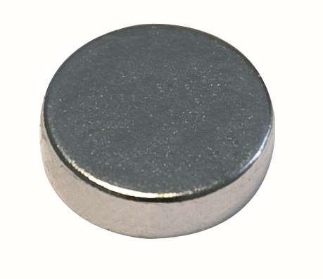 Neodym- Magnet 12 St., rund
