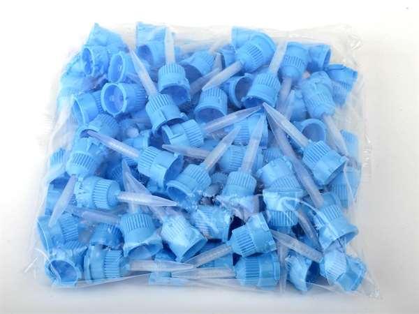 Mischkanülen blau f. Rosi Zahnfleischmaske 100 St.