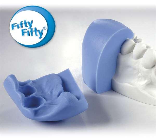 Fifty-Fifty Knetsilikon 5,5 l (2 x 2,75 l)