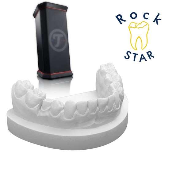 Aktion RockStar® lichtgrau 4 x 5 kg + Rockster XS
