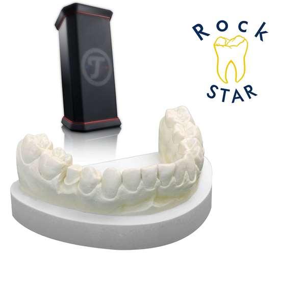 Aktion RockStar® creme 4 x 5 kg + Rockster XS