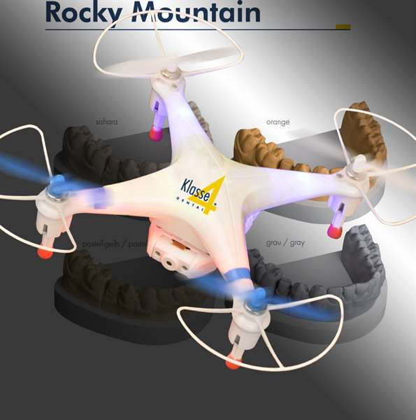 Aktion Rocky pastell-gelb 20 kg + Quadrokopter