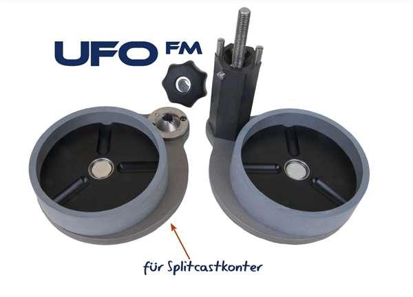 UFO FM gebraucht-Unterfütterungsg. mit Splitcastk.